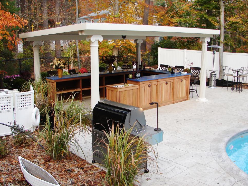 Outdoor Kitchen Landscape Florida